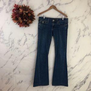 True Religion Joey Flare Leg Jeans